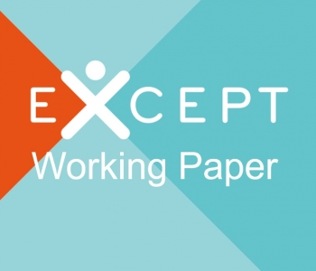 Six new working papers based on EXCEPT qualitative research are available on EXCEPT website