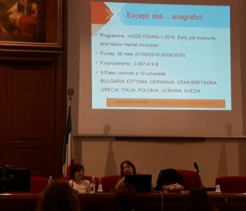 EXCEPT Seminar at the University of Catania