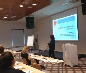 Introduction of EXCEPT WP1 results at a stakeholder event and in Estonian media