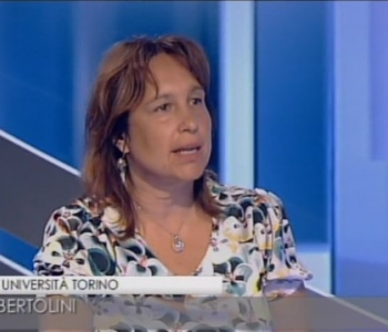 Sonia Bertolini presented the first results of the qualitative EXCEPT research on a public TV channel