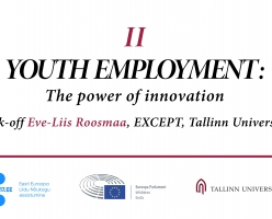Eve-Liis Roosmaa will open the discussion on youth employment with the President of European Parliament