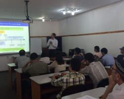 EXCEPT Public Lecture delivered in Tajikistan