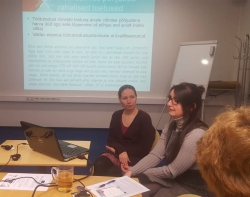 The results of EXCEPT project introduced to representatives of Ministry of Social Affairs and Unemployment Insurance fund of Estonia