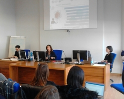 Supporting International Women's Day: EXCEPT organises seminar with students on work insecurity in a gender perspective