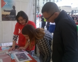 EXCEPT researchers presented the project at European night of the researchers in Turin