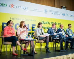 EXCEPT policy panel discussion in Ukraine