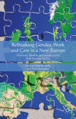 "EXCEPT researcher Dirk Hofaecker presents the book ""Rethinking Gender, Work and Care in a New Europe: Theorising Markets and Societies in the Post-Postsocialist Era"""
