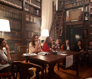Book presentation by EXCEPT team of Turin University at local Readers Club